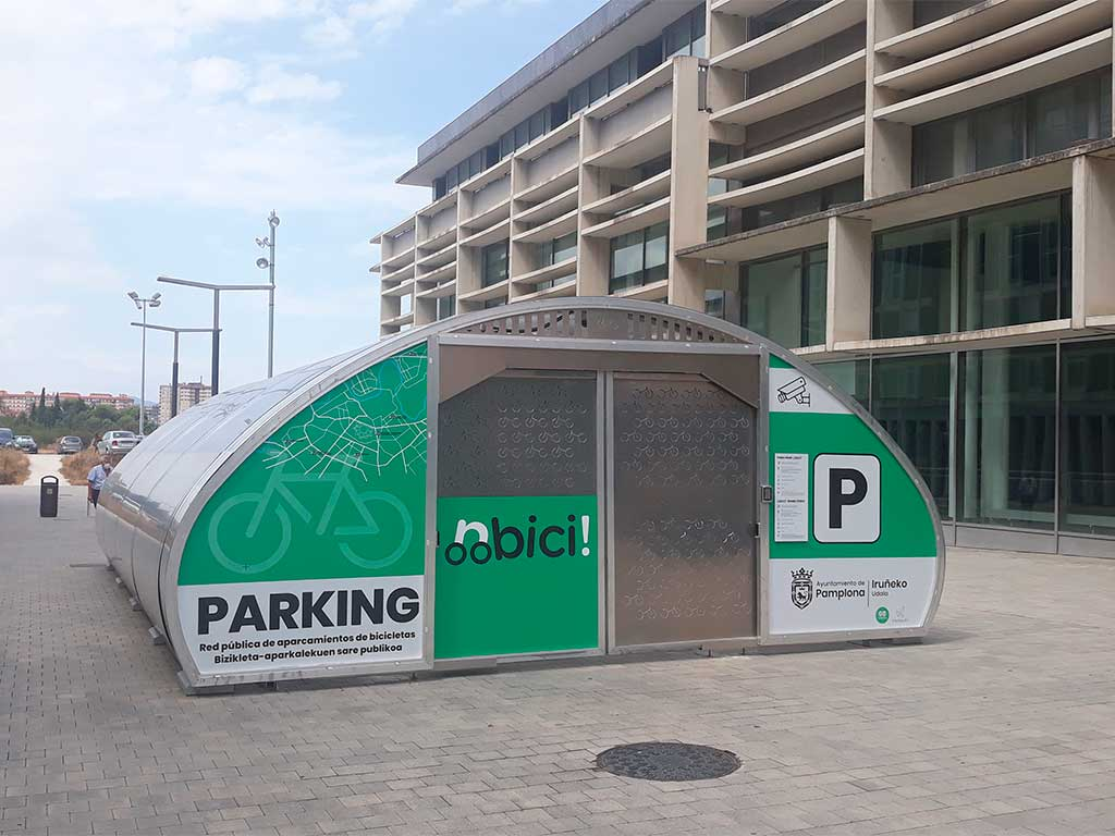 Parking Modelo Easo, instalado en Pamplona por Intelligent Parking